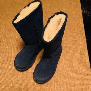Girls blue UGGS  - size 3